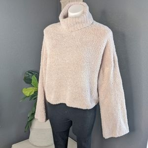 Urban Outfitters Fuzzy Turtleneck Sweater
